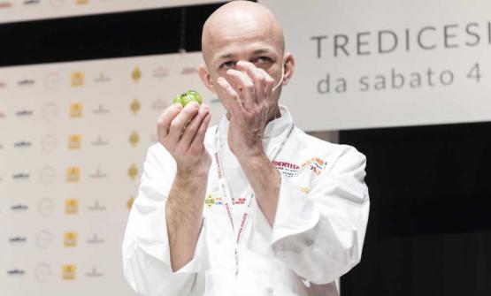Riccardo Camanini, 43 anni, chef di Lido 84 a Gard