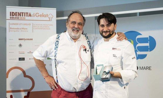 Marco Pedron con Paolo Marchi