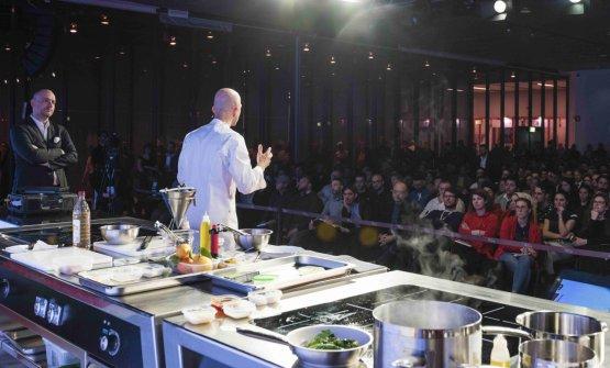 Un dettaglio della cucina presente in Auditorium