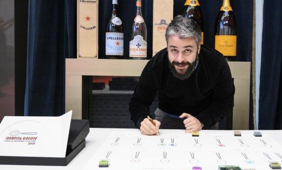 Giuseppe Lo Iudice(birra in cucina).Premia Arte del Convivio