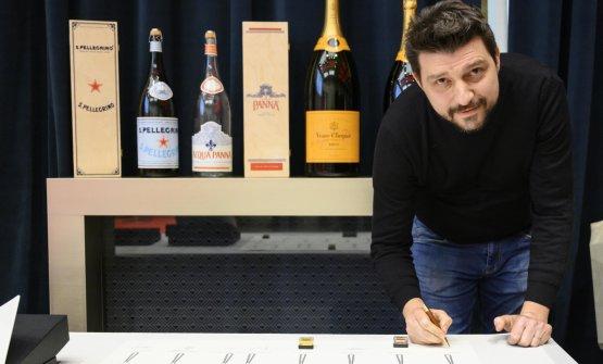 Alberto Gipponi(sorpresa dell'anno).Premia Bonaventura Maschio