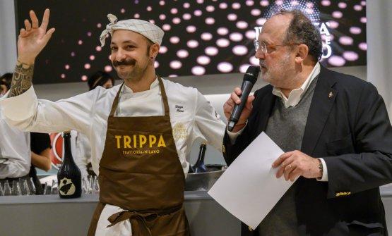 Diego Rossi con Paolo Marchi