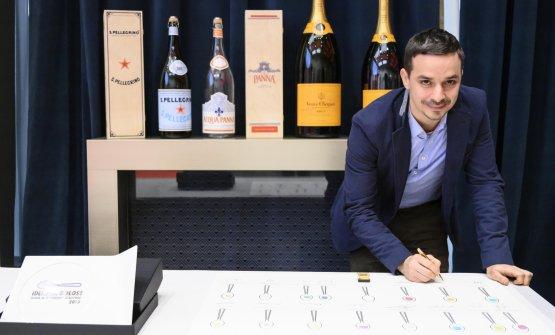 Gianluca Gorini(il miglior chef).Premia Consorzio Grana Padano