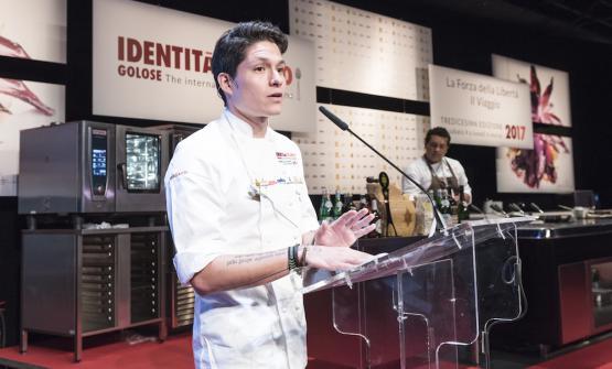 Palmiro Ocampo, 30 anni, chef di1087 Bistroa L