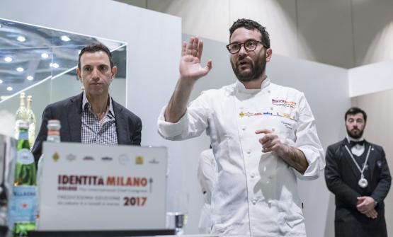 Giuseppe Iannotti a Milano, sabato 4 marzo scorso(foto Brambilla/Serrani)