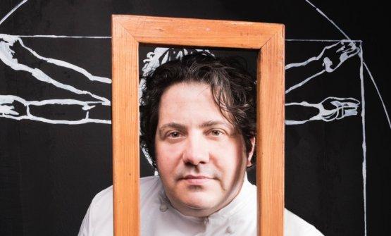 Gianluca Fusto, 43 anni. Pasticciere giramondo, è relatore diIdentità Milano da 13 edizioni consecutive (foto Brambilla/Serrani)