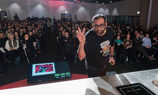 Gaggan Anand at Identità Milano 2018 (photo Br