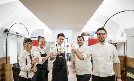 La brigata del ristorante(foto diNicolò Brunelli)
