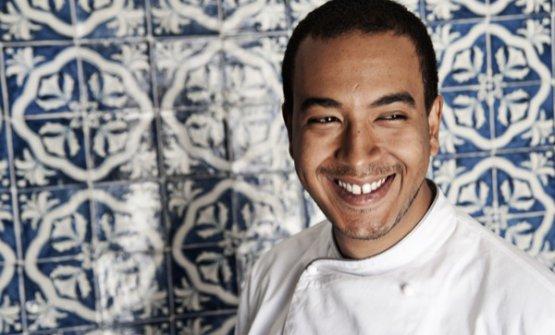 Lo chef Massimo Giaquinta...