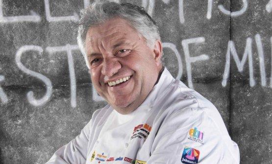 Peppe Guida, classe 1965, è chef e patron dell