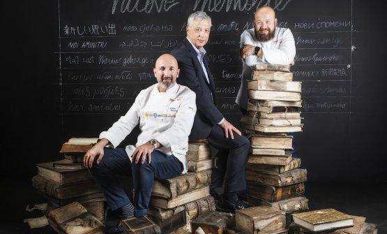 Andrea Ribaldone,Marco Niccolai e Domingo Sching