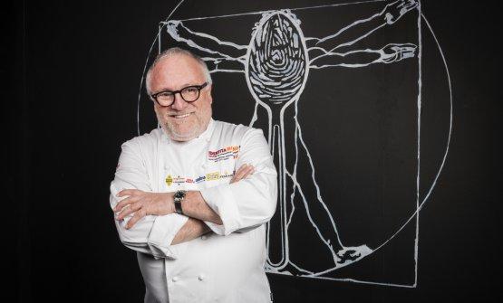 Antonello Colonna, gran chef romano, ospite questa