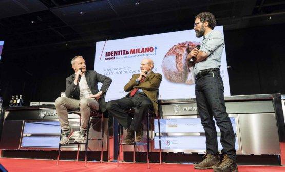 Giuseppe Bosine Federico Fazzuoli dialogano con Quaranta