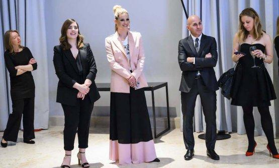 Francesca Ricci, Michelle Hunziker, Claudio Scavizzi