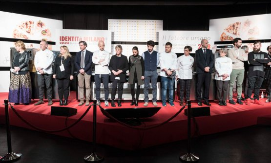 I rappresentanti di East Lombardy sul palco di Identità Milano 2018