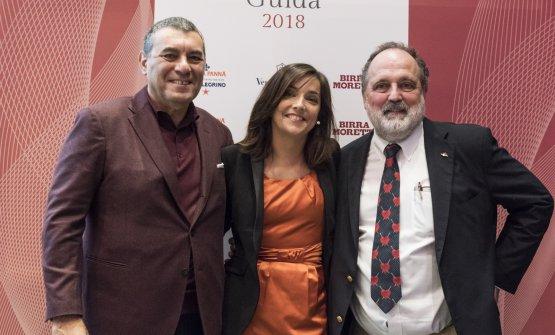 Claudio Ceroni, Lisa Casali e Paolo Marchi