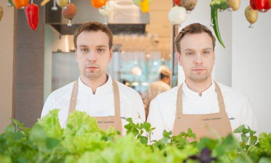 Sergey Berezutskiywas the first Russian cook to