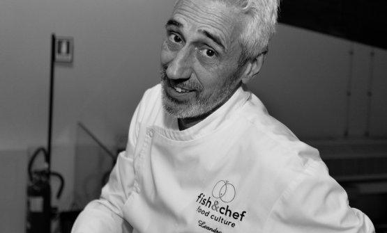 Leandro Luppi, il padre di Fish & Chef