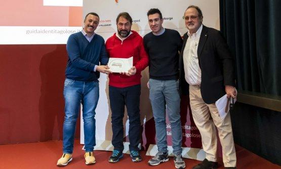 Premio BIRRA IN CUCINA, offerto daBirra del Borgo - Alfredo Colangelo, Direttore Commerciale  FRANCO FRANCIOSI E FRANCESCO D'ALESSANDRO - MAMMARÒSSA-AVEZZANO (L'AQUILA)