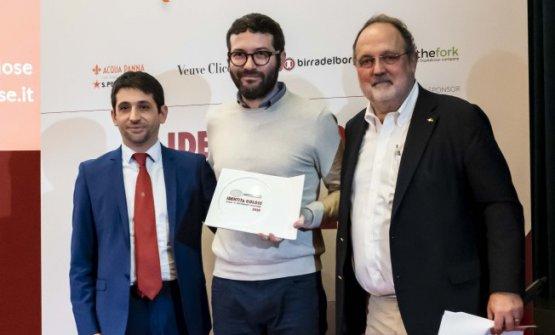 Premio SPERIMENTAZIONE IN CUCINA, offerto daRoboqbo - Francesco Papa, Responsabile Commerciale  GIUSEPPE IANNOTTI - KRESIOS - TELESE TERME (BENEVENTO)