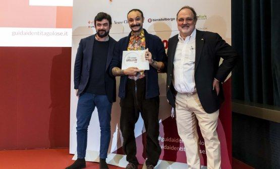 Premio IL MIGLIOR CHEF, offerto daPasqua Vigneti e Cantine - Riccardo Pasqua, AD  DIEGO ROSSI - TRIPPA - MILANO