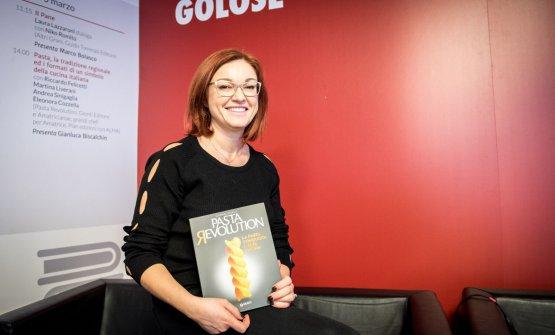 Eleonora Cozzella(Pasta Revolution, Giunti Editore)