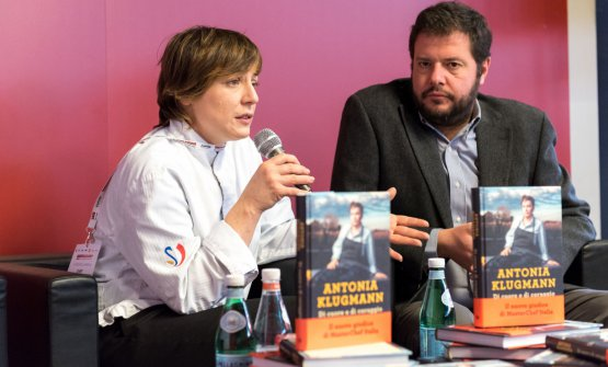 Antonia Klugmann(Di cuore e di coraggio, Giunti Editore), con Marco Bolasco