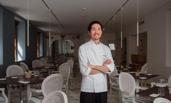 Lo chef Jumpei Kuroda