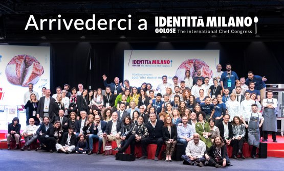 Final group photo at Identità Golose last year