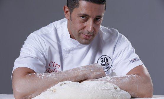 Ciro Salvo, patron della pizzeria 50 Kalò di Napoli e Londra