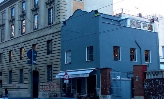 La nuova sede del ristorante Marzapane, via Flamin