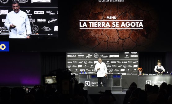 Joan Roca's speech at Madrid Fusión