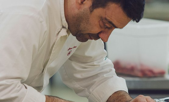 Alfonso Crisci, chef e patron della Taverna Vesuviana