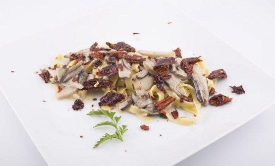 Uno dei primi piatti dell'Osteria San Francesco