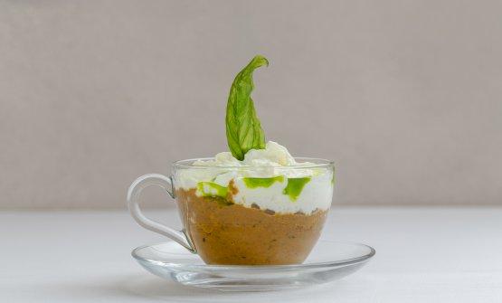 Cappuccino di parmigiana: il piatto dell'estat