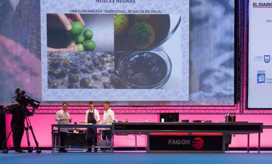 XatrucheCastro sul palco di Gastronomika 2017