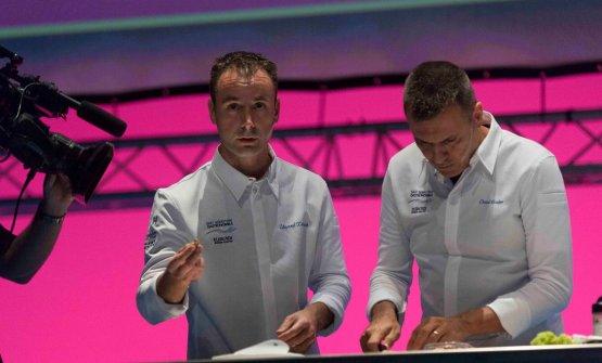Di nuovoXatrucheCastro sul palco di Gastronomika 2017