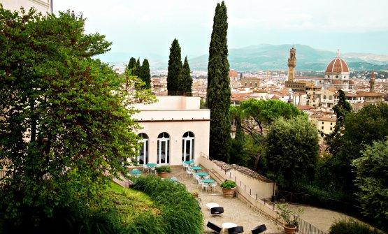 Villa Bardini dall'esterno (foto di Lido Vannucchi)
