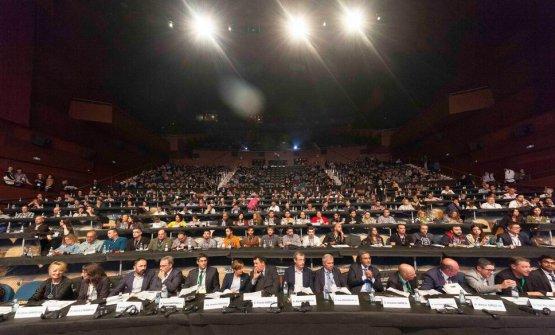 La platea del congresso
