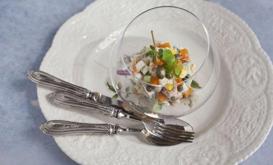 La splendida insalata russa, o per meglio dire ins
