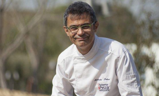 Roberto Petza nella foto diAlessandro Congiu