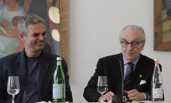 Pietro Leemann con Gualtiero Marchesi