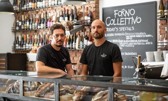 Davide Martelli e Alessandro Longhin: c'è la loro esperienza dietro a Forno Collettivo, sono già stati isoci fondatori di The Botanical Clube non solo