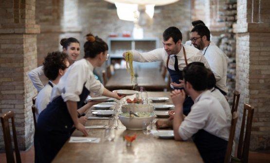Lo staff del ristorante