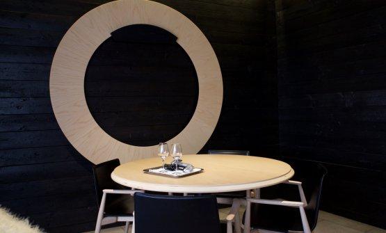 La sala del ristorante Il Grano di Pepe