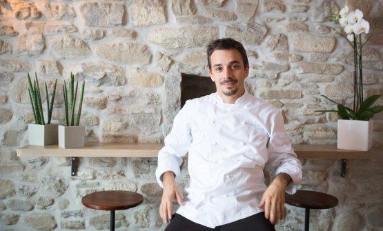 Gianluca Gorini, chef e patron del neostellatoDaGorini