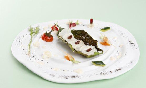 Il Dentice Imperiale dello chef stellato Alfonso Caputo, patron della Taverna del Capitano di Massa Lubrense (Napoli)