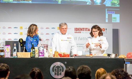 Cristina Viggè, Rolando e Francesca Morandin