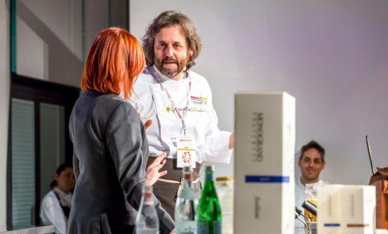 Cristiano Tomei, protagonista di una frizzante lezione a Identità di Pasta (foto Brambilla-Serrani)
