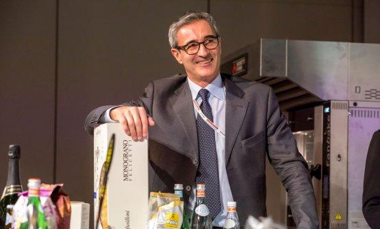 Riccardo Felicetti interessato e anche divertito